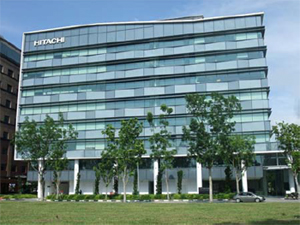 The building in which Hitachi Systems' new business base is located
